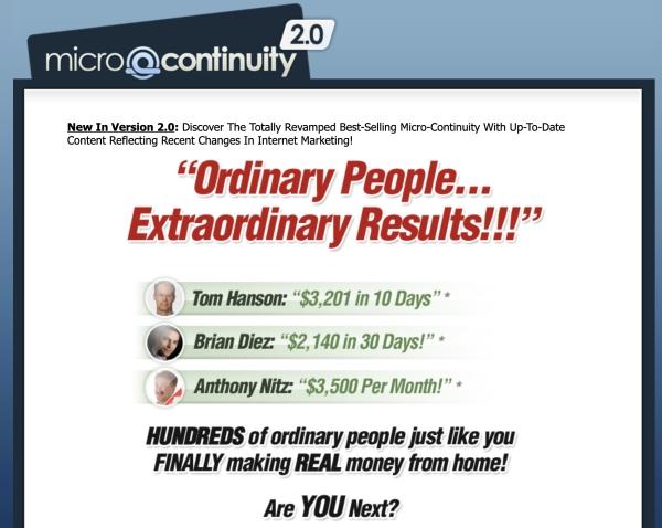 microcontinuity